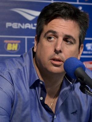 Bruno Vicintin, vice-presidente de futebol do Cruzeiro (Foto: Washington Alves/Light Press)