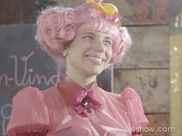 Juliana conta que vai terminar com o namorado. (Foto: Meu Pedacinho de Chão/TV Globo)