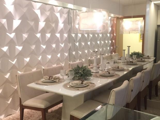 Confira dicas de como escolher um apartamento com base no decorado em Goiás (Foto: Danielle Oliveira/G1)