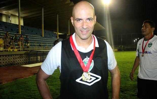 Paulo Morgado Manaus FC (Foto: Isabella Pina)