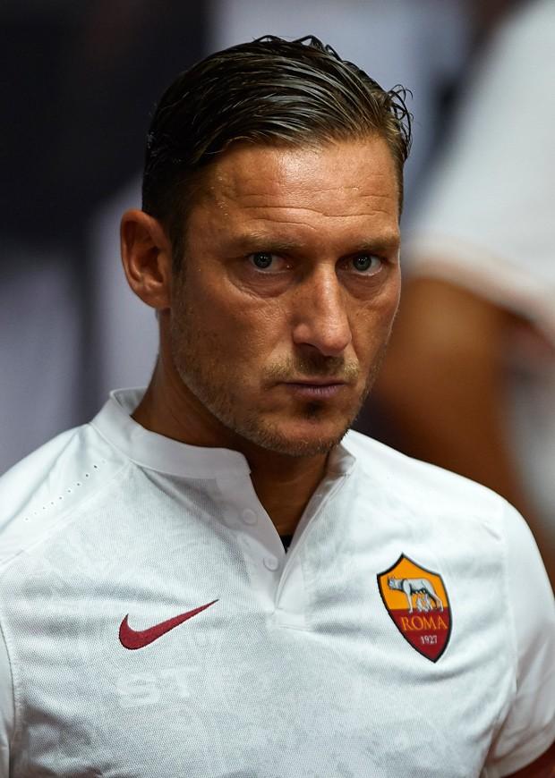 Francesco Totti, o ídolo máximo do Roma (ainda em atividade) (Foto: Getty Images)