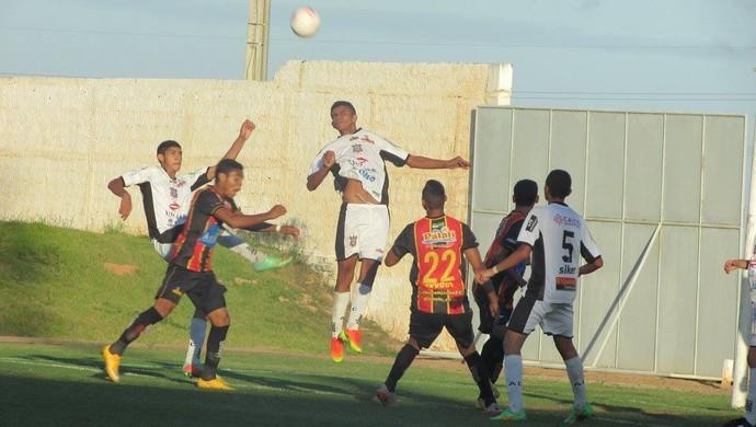 Globo FC x Corintians-RN sub-19 (Foto: Rhuan Carlos/Divulgação)