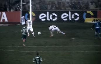 Dos 47 aos 50: santista Nilson dá quatro toques na bola e perde gol feito