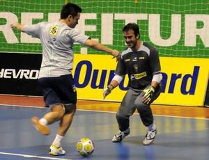 Léo Oliveira e Falcão (Foto: Divulgação)