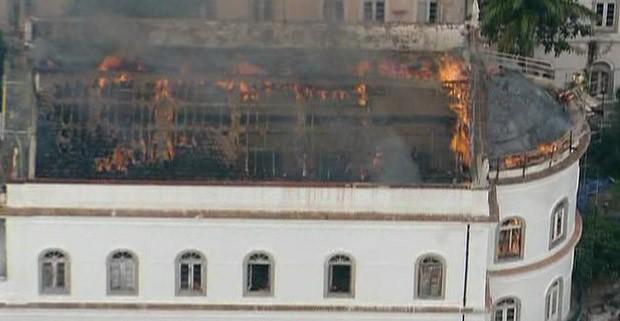 Combustão é uma transformação química (Foto: O Globo)