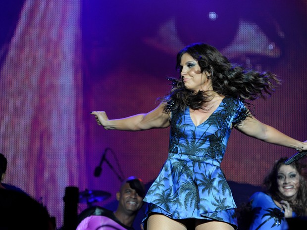 Ivete Sangalo se apresenta no Palco Mundo no Rock in Rio 2013. (Foto: Flávio Moraes/G1)