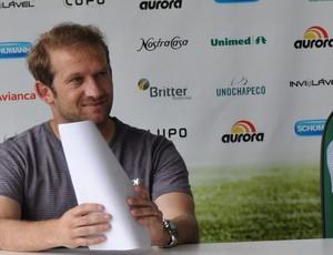 Cadu Gaúcho, diretor de futebol da Chapecoense  (Foto: Divulgação / Chapecoense)