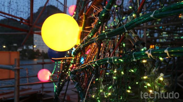 Mesmo com a telemetria, árvore consome (Foto: Lucas Mendes/TechTudo)
