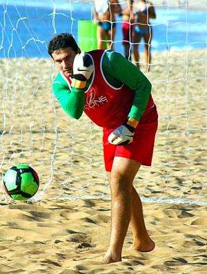 Marquinhos goleiro Vila Velha futebol de areia (Foto: Pauta Livre/Divulgação)