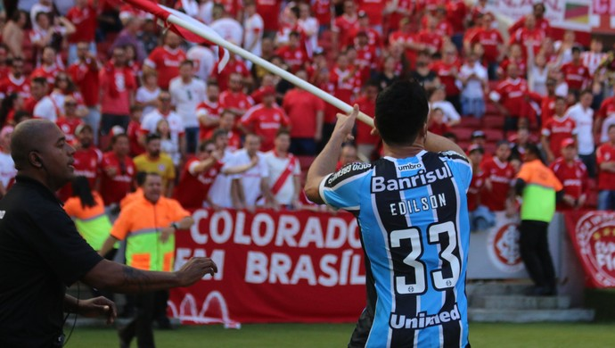 Gre-Nal 410, Grêmio, Beira-Rio, Edílson (Foto: Diego Guichard / GloboEsporte.com)