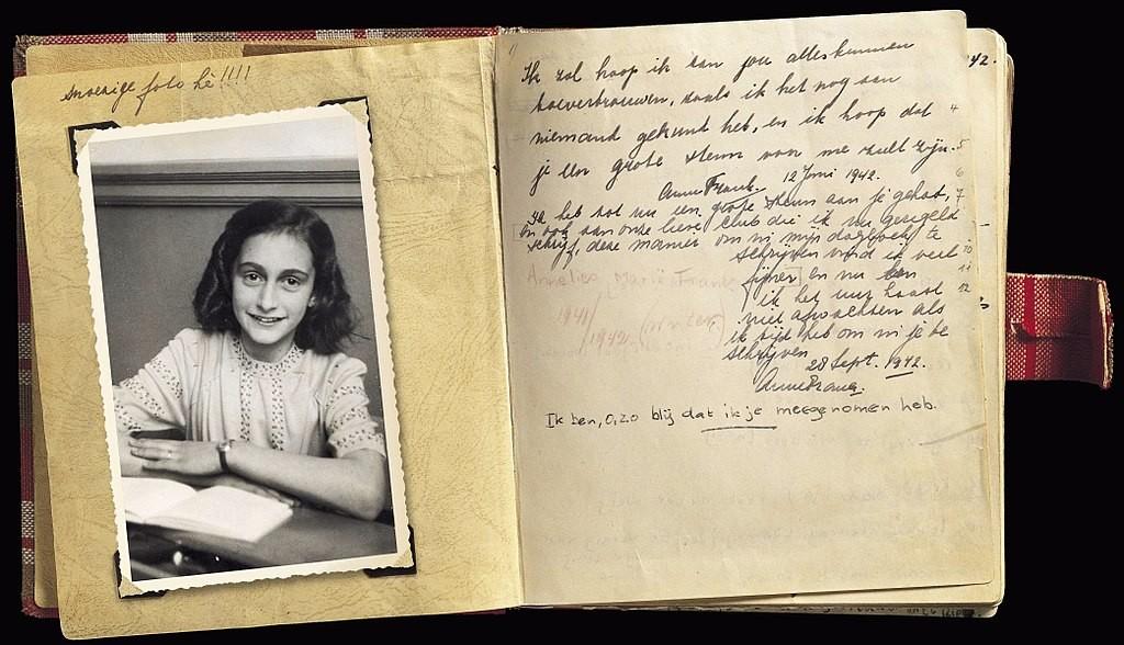 Resultado de imagem para O diário de Anne Frank
