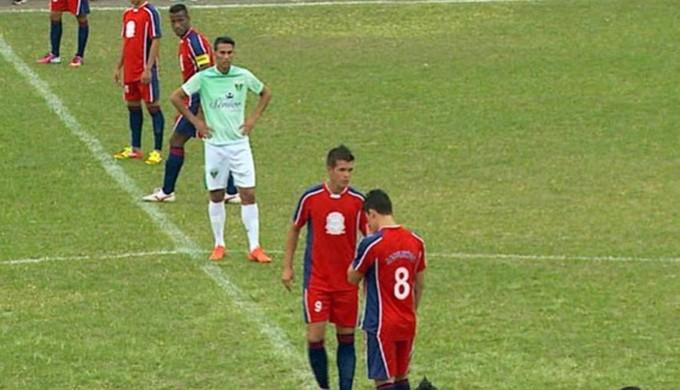 Jacutinga foi uma das equipes sulmineiras que ficaram de fora da Segunda Divisão de 2014 (Foto: Reprodução EPTV)