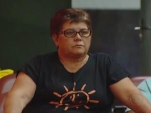 Cida Machado candidata à Prefeitura de Uberlândia pelo PSOL (Foto: Reprodução/TV Integração)
