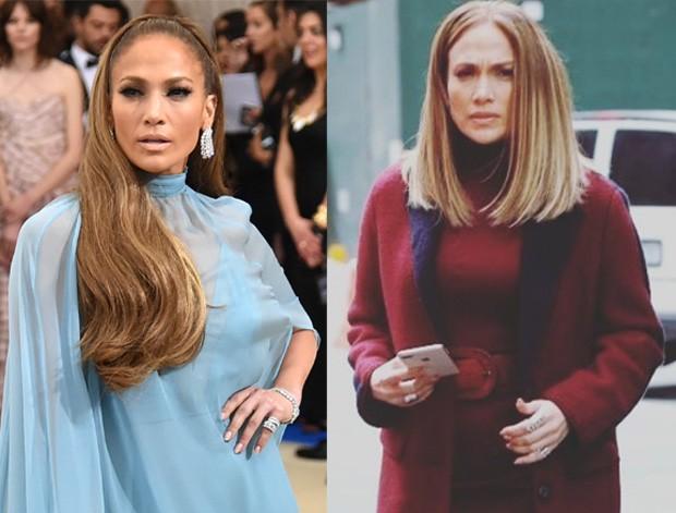 Jennifer Lopez com novo look: mais curto e iluminado (Foto: Reprodução )