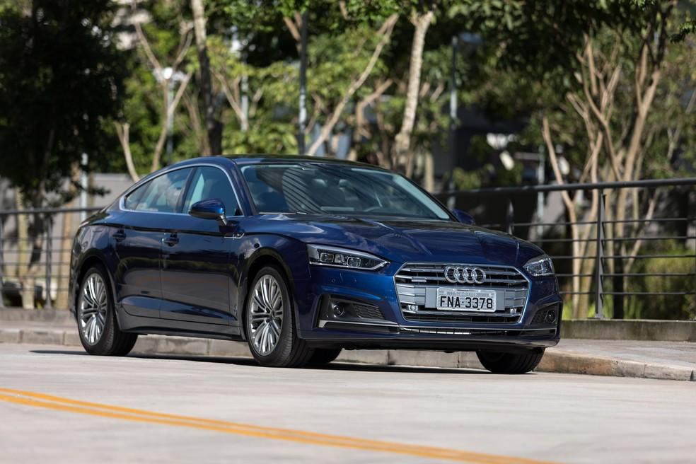 Audi A5 Sportback (Foto: Marcelo Brandt/G1)