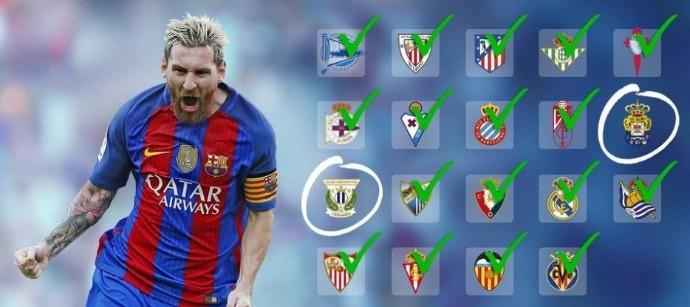 BLOG: Próxima vítima? Leganés ainda não sofreu com o craque do Barcelona Lionel Messi