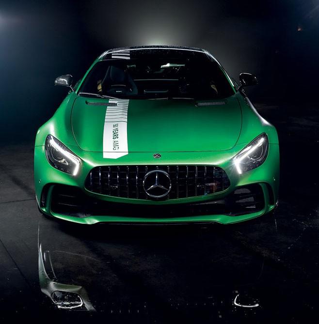 Mercedes AMG GTR (Foto: Leo Sposito)