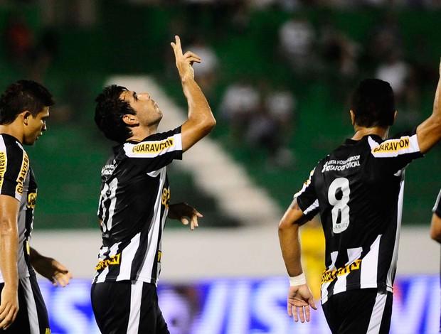 Herrera gol Botafogo (Foto: Marcos Ribolli / Globoesporte.com)