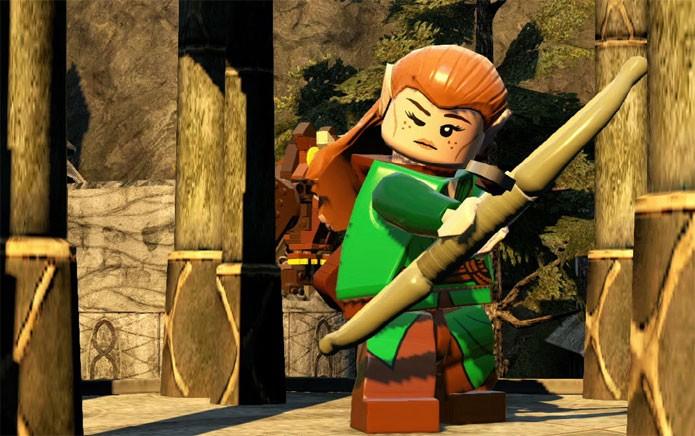 Tauriel é uma elfa arqueira (Foto: Divulgação)