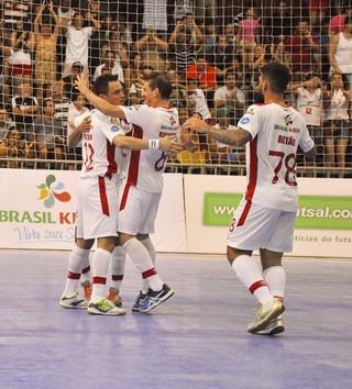 Sorocaba x Umuarama, Sorocaba, Umuarama, LNF, Futsal (Foto: Divulgação / Futsal Brasil Kirin)