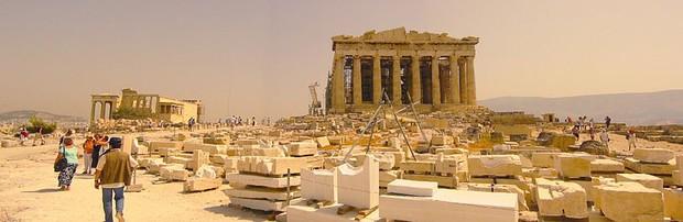 Atenas, uma das principais cidades-Estados da Grécia (Foto: Wikimedia Commons)