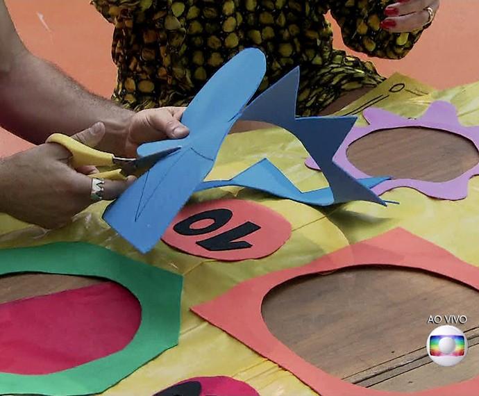 O jogo é diversão garantida para a família e para a criançada (Foto: TV Globo)