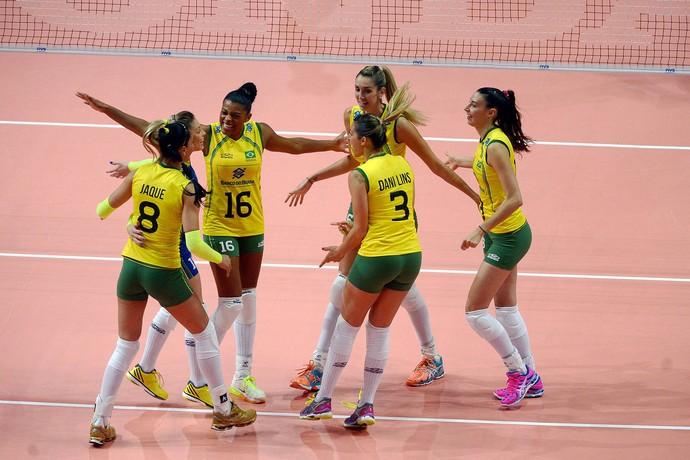 Brasil x Itália mundial de Vôlei (Foto: Divulgação / FIVB)