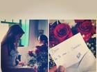 Marquezine recebe flores de Neymar e se declara: 'Te amo cada dia mais'