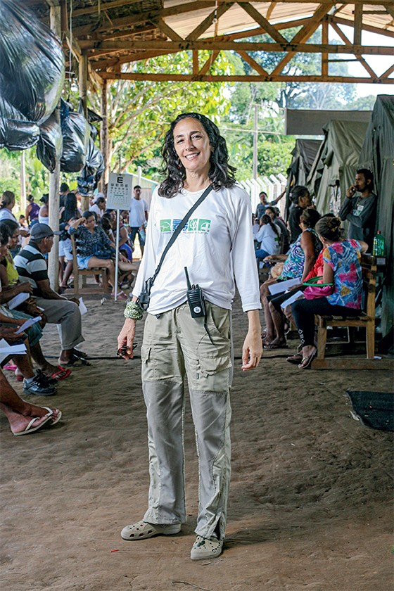 Marcia Abdala, prefeita do grupo (EDS) (Foto: Rogério Cassimiro/ÉPOCA)