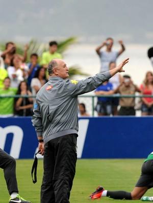 Felipão Scolari treino seleção Brasil (Foto: André Durão / Globoesporte.com)