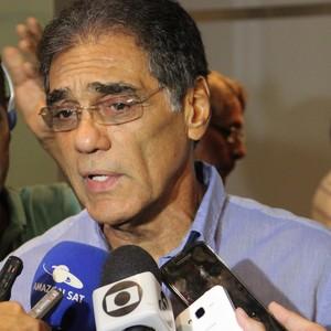 Dissica Valério Tomaz presidente faf amazonas (Foto: Marcos Dantas)