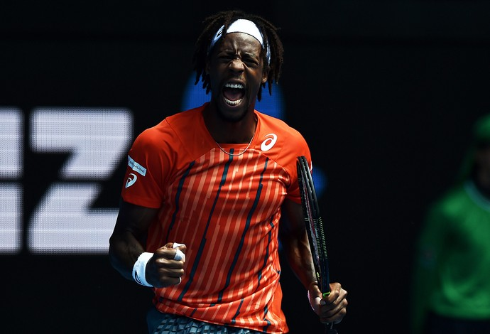 monfils aberto da austrália (Foto: EFE/EPA/TRACEY NEARMY AUSTRALIA AND NEW ZEALAND OUT)
