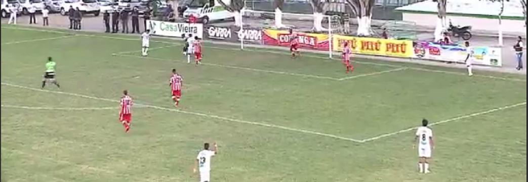 Murici vence por 3  a 1 e derruba invencibilidade do CRB: veja os gols (Reprodução TV Gazeta)