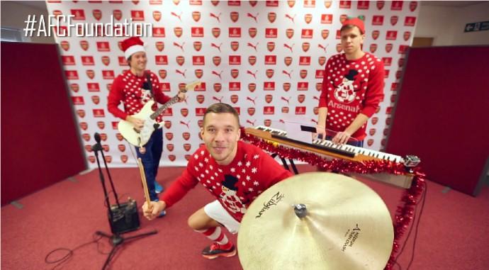 Podolski Arsenal bateria