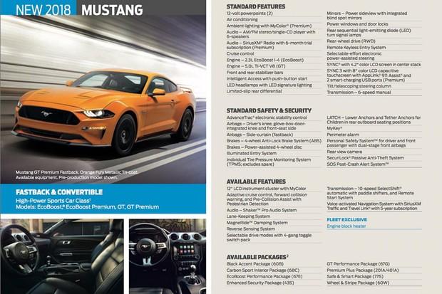 Vazam detalhes do Ford Mustang reestilizado (Foto: Reprodução / Mustang6G)