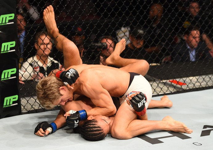 Sage Northcutt Francisco Treviño UFC 192 MMA (Foto: Getty Images)