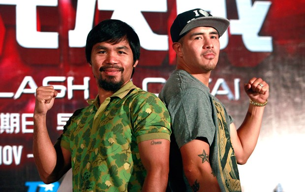 Pacquião e Brandom Rios, Boxe (Foto: Getty Images)
