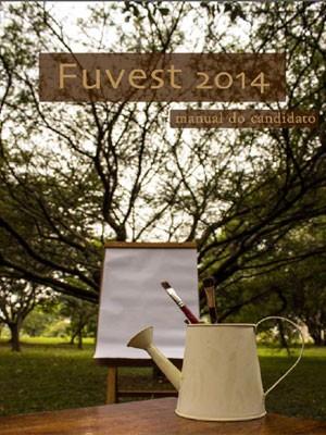 Manual da Fuvest 2014 (Foto: Reprodução)