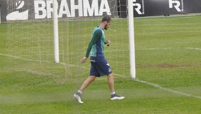 Fred, zagueiro do Goiás (Foto: Guilherme Gonçalves/GloboEsporte.com)