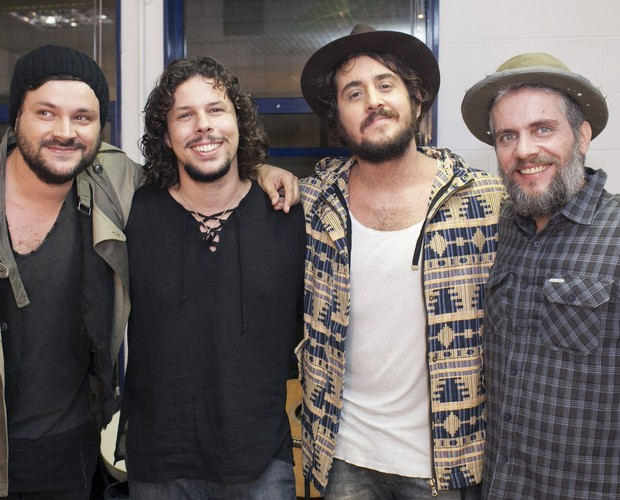 Suricato bastidores (Foto: Dafne Bastos/TV Globo)