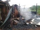 Incêndio destrói barraco onde moravam mãe e filha na capital de MS