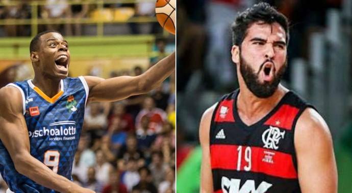 Gui Deodato, Gegê, reforços, Bauru Basket (Foto: Arte / GloboEsporte.com)