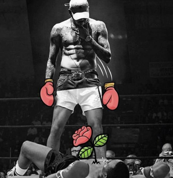 Imagem divulgada por Chris Brown  (Foto: Reprodução Instagram)