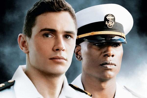 James Franco e Tyrese Gibson em 'Annapolis' (2006) (Foto: Reprodução)