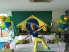 Ana Maria reúne equipe do Mais Você em casa para ver o jogo do Brasil