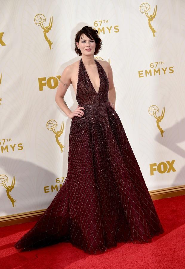 Lena Headey no Emmy Awards (Foto: Getty Images)