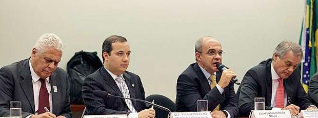 Clubes voltam ao Congresso para pedir renegociação das dívidas (Foto: Fabricio Marques)