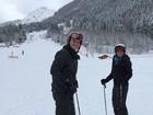 Thais Fersoza e Michel Teló esquiam na Suíça: 'Coisa mais linda esse lugar'