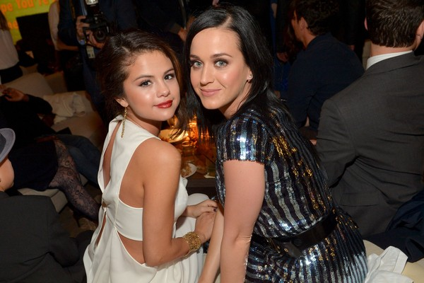 As cantoras Katy Perry e Selena Gomez (Foto: Getty Images)