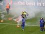 Atletas, técnico e até sistema de som de estádio condenam torcida croata